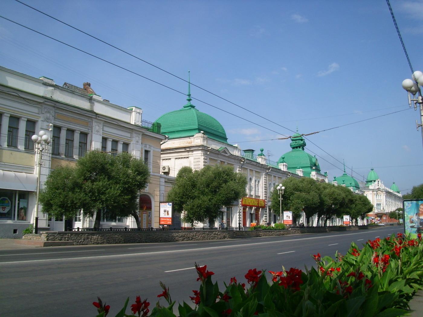 центры омск центр города улицы фото несколько часов